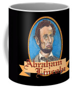 Abraham Lincoln Graphic Coffee Mug by John Keaton