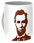 Abraham Lincoln Original Coffee Painting Coffee Mug