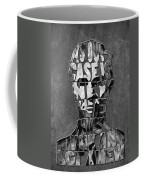 Abraham Lincoln Quote Original Typography Black And Whte Coffee Mug