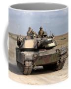 Abrams M1a1 Main Battle Tank Coffee Mug