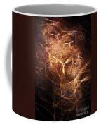 Abstract Angels Burning Sepia Coffee Mug