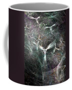 Abstract Angels White Portrait Coffee Mug