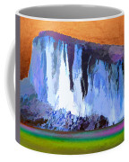 Abstract Arizona Mountains At Icy Dawn Coffee Mug
