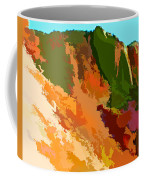 Abstract Arizona Mountains In The Afternoon  Coffee Mug