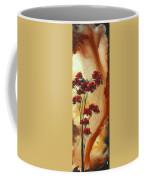 Abstract Art Colorful Original Landscape Painting Birds Aloft By Madart Coffee Mug