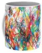 Abstract Art Focused Inward Towards The Divine 4 Coffee Mug