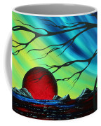 Abstract Art Landscape Seascape Bold Colorful Artwork Serenity By Madart Coffee Mug