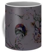 Abstract Art On The Beach Coffee Mug