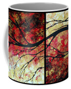 Abstract Art Original Landscape Painting Bring Me Home By Madart Coffee Mug by Megan Duncanson