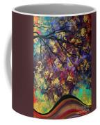 Abstract Art Original Landscape Painting Go Forth IIi By Madart Studios Coffee Mug