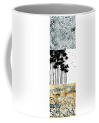 Abstract Art Original Landscape Pattern Painting By Megan Duncanson Coffee Mug by Megan Duncanson
