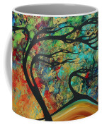 Abstract Art Original Landscape Wild Abandon By Madart Coffee Mug