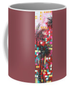 Abstract Art Original Tropical Landscape Painting Fun In The Tropics By Madart Coffee Mug by Megan Duncanson