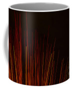 Abstract Background Of Red Sticks Coffee Mug