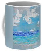 Silver Sky Beach Coffee Mug