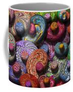 Abstract - Beans Coffee Mug by Mike Savad