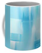 Abstract Blue 2 Square Coffee Mug