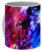 Abstract Blue And Pink Festival Coffee Mug by Andrea Anderegg