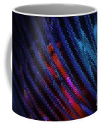 Abstract Blue Red Green Blur Coffee Mug