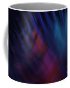 Abstract Blue Red Green Diagonal Blur Coffee Mug