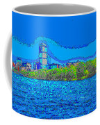 Abstract Boston Skyline Coffee Mug