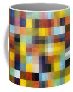 Abstract Boxes With Layers Coffee Mug