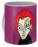 Abstract Boy Coffee Mug