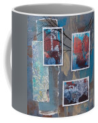 Abstract Branch Collage Trio Coffee Mug