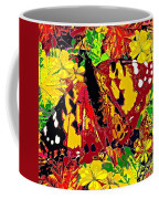 Abstract Butterfly #3 Autumn Coffee Mug