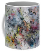 Abstract Butterfly Dragonfly Painting Coffee Mug