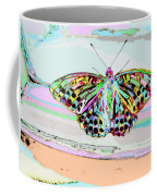 Abstract Butterfly Coffee Mug