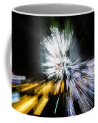 Abstract Christmas Lights - Burst Of Colors Coffee Mug