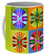 Abstract Circles And Squares 1 Coffee Mug