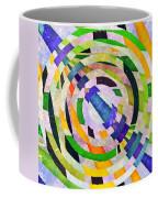 Abstract Circles Coffee Mug