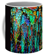 Abstract Color Falls Coffee Mug