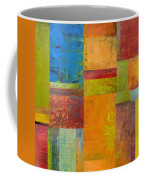 Abstract Color Study Collage Ll Coffee Mug