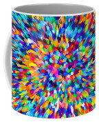 Abstract Colorful Splash Background 1 Coffee Mug