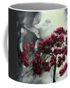 Abstract Contemporary Art Landscape Painting Modern Artwork Pink Passion By Madart Coffee Mug