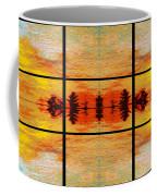 Abstract Cracker Tapestry Coffee Mug