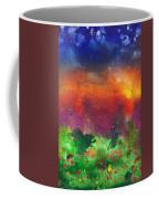 Abstract - Crayon - Utopia Coffee Mug by Mike Savad
