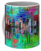 Abstract Cubed 19 Coffee Mug