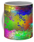 Abstract Cubed 64 Coffee Mug