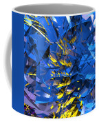 Abstract Curvy 10 Coffee Mug