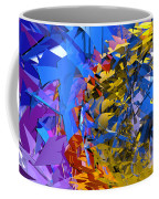 Abstract Curvy 13 Coffee Mug