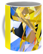 Abstract Curvy 35 Coffee Mug