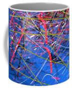 Abstract Curvy 46 Coffee Mug