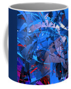 Abstract Curvy 9 Coffee Mug