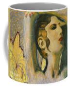 Abstract Cyprus Map And Aphrodite Coffee Mug