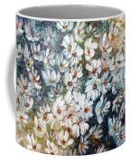 Abstract Daisy Remix  Coffee Mug