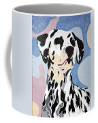 Abstract Dalmatian Coffee Mug
